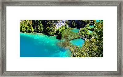 Plitvice Lakes National Park Framed Print