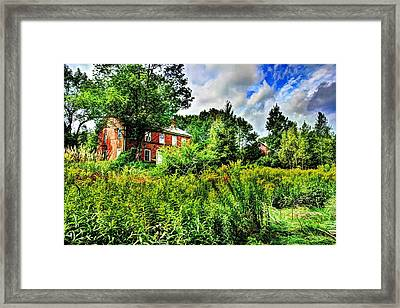 Plott Road Farmhouse Framed Print