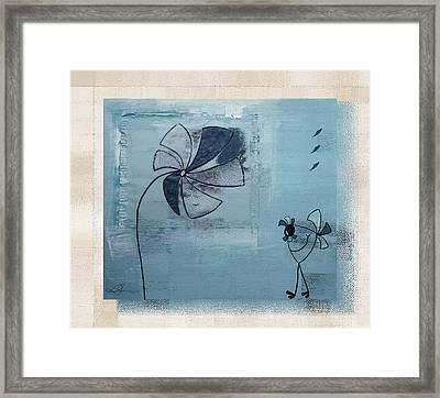 Plouk - J058046082bg Framed Print by Variance Collections