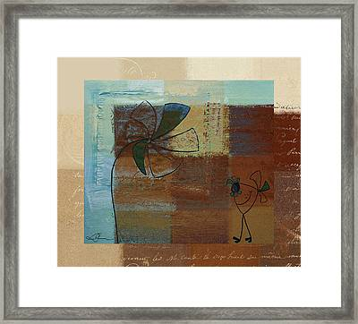 Plouk - J128121046w1d Framed Print by Variance Collections