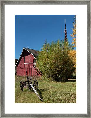 Plow That Broke The Plain Framed Print by Daniel Hebard