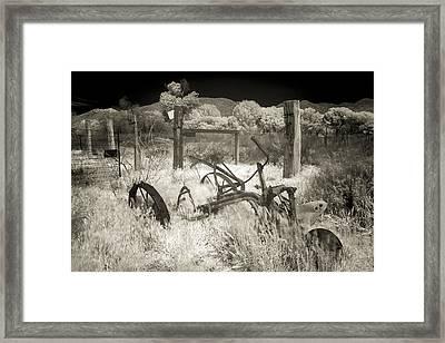 Plowed Under Framed Print by Scott Campbell