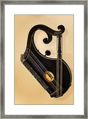 Plucked Vienna Zither Framed Print