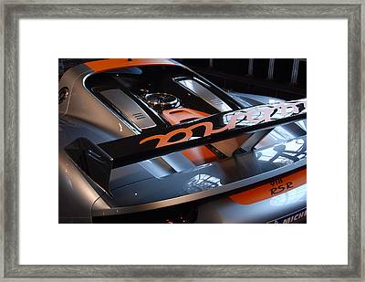 Framed Print featuring the photograph Plug In by John Schneider