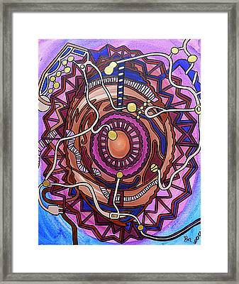 Plugged In Framed Print by Barbara St Jean