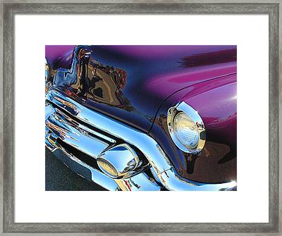 Plum Beautiful Framed Print