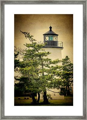 Plum Island Light Framed Print