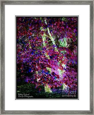 Plum Pretty Framed Print by Bobbee Rickard