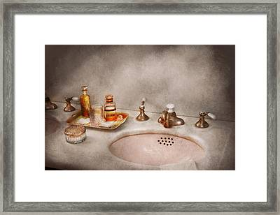 Plumber - First Thing In The Morning Framed Print by Mike Savad