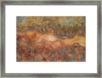 Plume Agate Framed Print by Leland D Howard