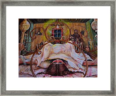 Plumlee's Four-poster Framed Print by Beverly Kemp