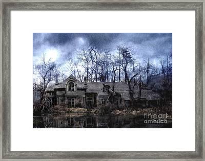 Plunkett Mansion Framed Print by Tom Straub