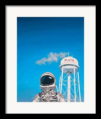 Sky Paintings Framed Prints