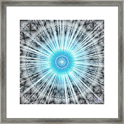 Plutonic Burst Framed Print