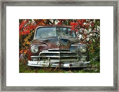 Plymouth Framed Print by Alana Ranney