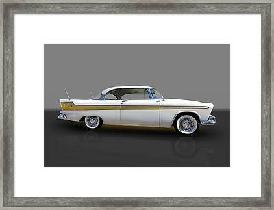 1956 Plymouth Fury Framed Print