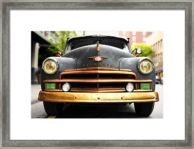 Plymouth Framed Print by Joe Longobardi