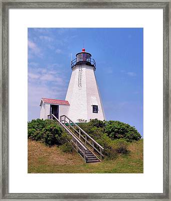 Plymouth Light Framed Print