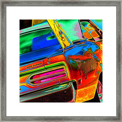 Plymouth Superbird Framed Print by Gordon Dean II