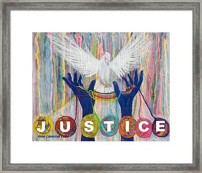 Pms 20 Justice Framed Print