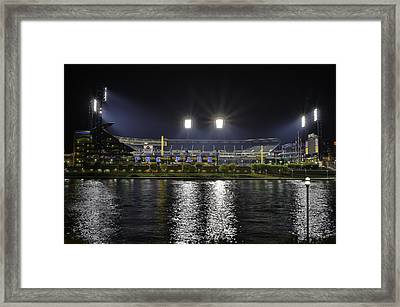 Pnc At Night. Framed Print by Jimmy Taaffe