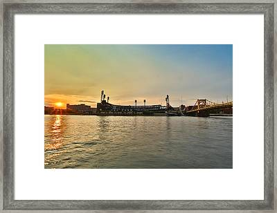 Pnc Park Framed Print by Jimmy Taaffe