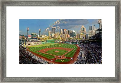 Pnc Park Pittsburgh Framed Print by Gary Cain