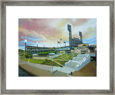 Pnc Park Pittsburgh Pirates Framed Print by Gregg Hinlicky