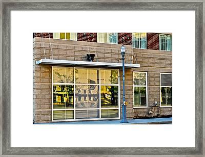 Pnc Park Reflection Framed Print