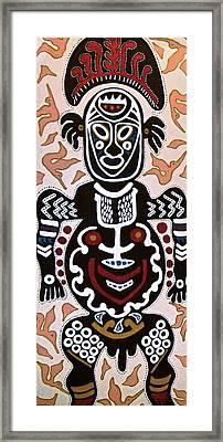 Papua New Guinea Manggi Framed Print