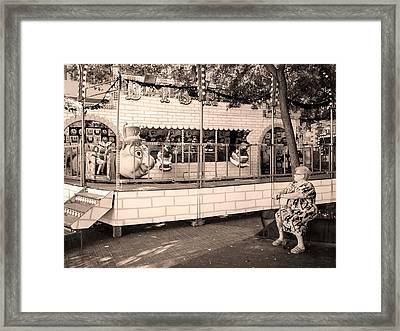 Poble Sec, Barcelona Framed Print