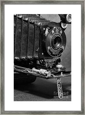 Pocket Kodak Framed Print by Paul Ward