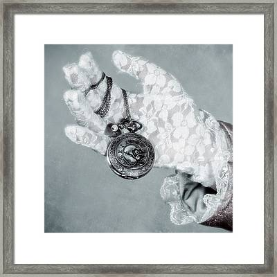Pocket Watch Framed Print by Joana Kruse