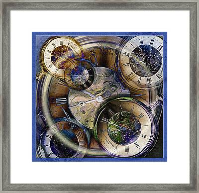 Pocketwatches Framed Print