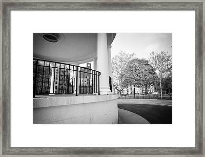 Poe Pavillon 2 Framed Print