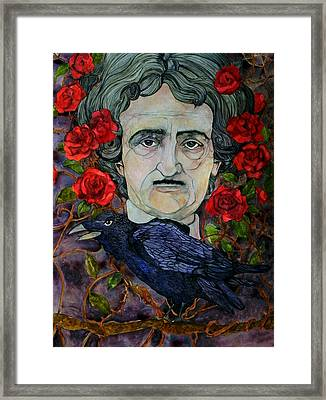 Poe Framed Print by Stacey Pilkington-Smith