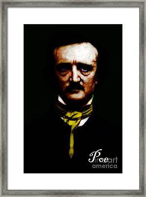 Poe Framed Print by Wingsdomain Art and Photography