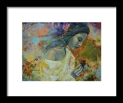 Fairy Poem Framed Prints