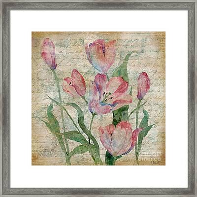 Poetic Garden II Framed Print