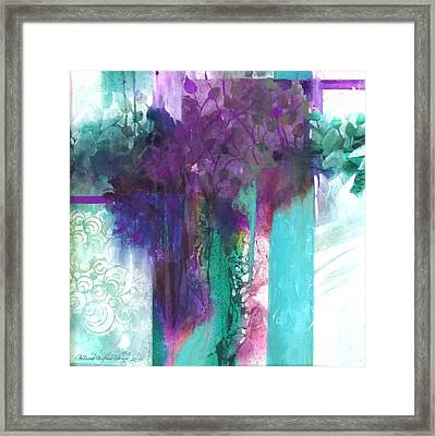 Poetry Is Painting Framed Print
