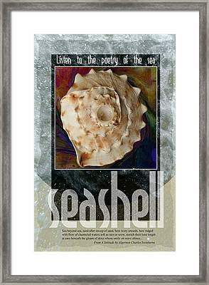 Poetry Of The Sea Framed Print