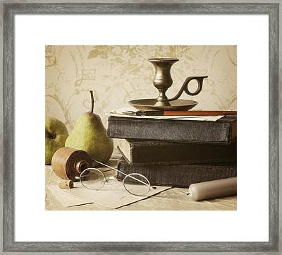Poet's Corner Framed Print by Amy Weiss