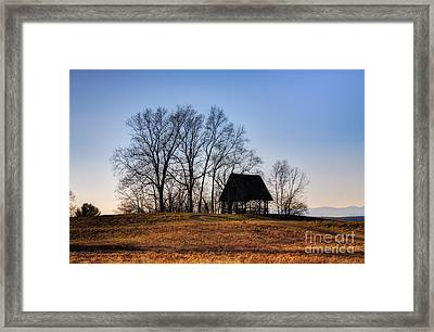 Poets' Walk Framed Print