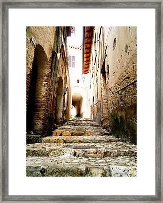 Poggio Catino Italy Framed Print