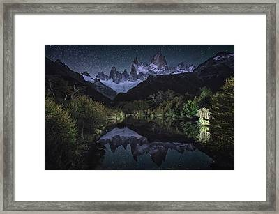 Poincenot Framed Print