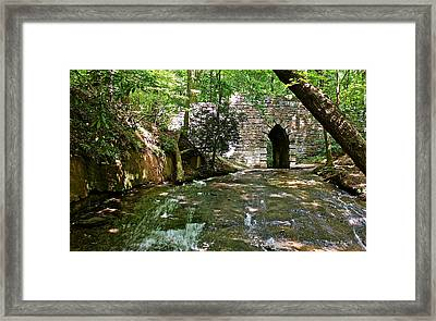 Poinsett Bridge Framed Print by Bellesouth Studio