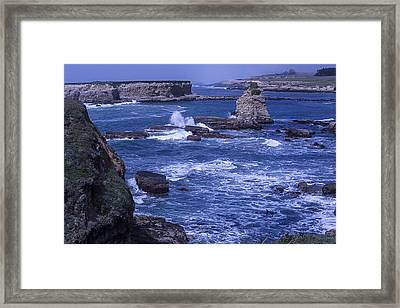 Point Arena Coastline  Framed Print by Garry Gay