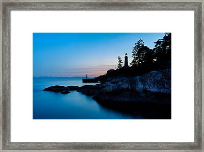 Point Atkinson Lighthouse Framed Print by Alexis Birkill