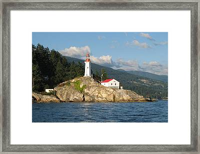 Point Atkinson Lighthouse Framed Print by Brian Chase