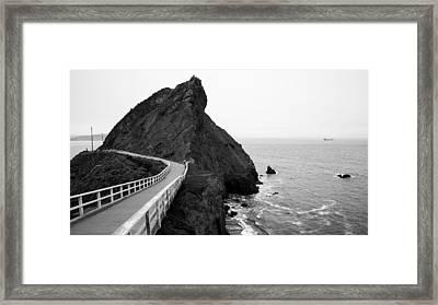 Point Bonita Cove Framed Print by Clay Townsend